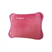 De Vielle Luxury Rechargeable Electric Hot Water Bottle - Pink