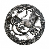 Turners Retreat PL11 Pewter Bird and Bow Lid