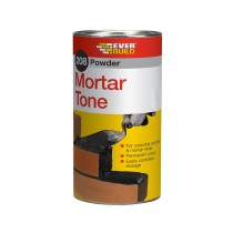 Everbuild 208 Powder Mortar Tone - Black - 1kg