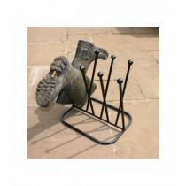 Poppyforge 4 Pair Diagonal Boot Rack (Round)