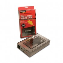 Pest Stop (PSPMMT) Multi-Catch Mouse Trap - Metal