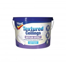 Polycell Textured Ceilings Ripple Effect - Matt Finish - 2.5L