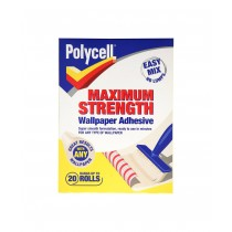 Polycell Maximum Strength Wallpaper Adhesive - 20 Roll