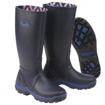 Grubs Rainline Wellington Boots - Navy - Size 7