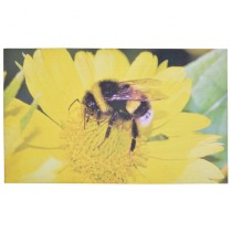 Fallen Fruits (RB186) Bee Printed Doormat - Rubber