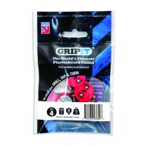 GripIt Plasterboard Fixing Red - 18mm - Pack of 4