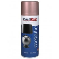 PlastiKote Metallic Spray Paint - Rose Gold - 400ml
