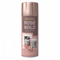 Rust-Oleum (Metallic) Spray Paint - Rose Gold - 400ml