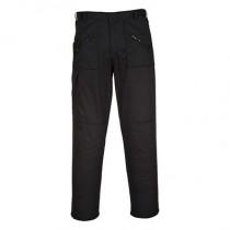 Portwest S887 Action Trousers - Black - 34R
