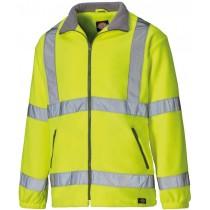 Dickies High Visibility Fleece (SA22032) Yellow - L