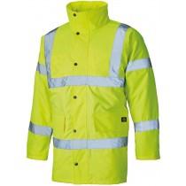 Dickies Hi Vis Motorway Safety Jacket (SA22045) Yellow - XL