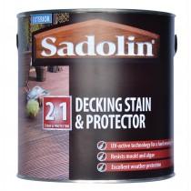 Sadolin Decking Stain & Protector - Teak - 2.5L