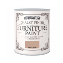 Rust-Oleum Chalky Furniture Paint (Matt) Salted Caramel - 750ml
