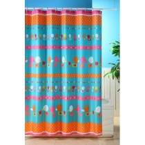 Blue Canyon SC412 Polyester Bright Duck Shower Curtain - 180 x 180CM