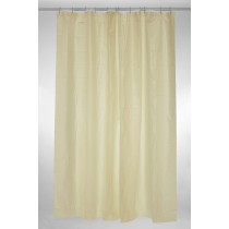 Blue Canyon SC205CR Plain PEVA Shower Curtain - Cream - 180 x 180cm