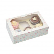Kitchen Craft Sweetly Does It Paper Cake Boxes - Pack of 2
