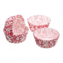 Kitchen Craft Sweetly Does It Pink Floral Cake Cases - Pack of 60