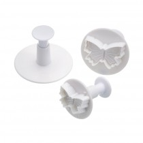 Kitchen Craft Sweetly Does It Butterfly Fondant Plunger Cutters - Set of 3