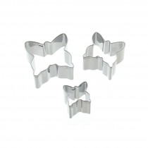 Kitchen Craft Sweetly Does It Butterfly Fondant Cutters - Set of 3