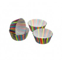 Kitchen Craft Sweetly Does It Jazzy Stripe Petit Fours/Treat Cases - Pack of 80