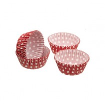 Kitchen Craft Sweetly Does It Polka Dot Petit Fours/Treat Cases - Pack of 80