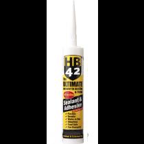 Hilton Banks HB42 Ultimate Sealant & Adhesive - Brown