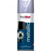 PlastiKote Metallic Spray Paint - Silver - 400ml