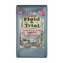 Skinner\'s Field and Trial Turkey and Rice 15kg