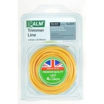ALM SL004 Medium Duty Petrol Trimmer Line - 2.4mm x 20m