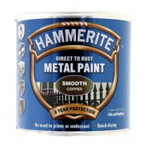 Hammerite Direct To Rust Metal Paint - Smooth Copper - 250ml