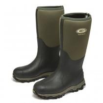 Grubs Snowline 8.5 Wellington Boots - Moss Green - Size 10
