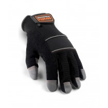 Scruffs Max Performance Full Fingered Gloves (T50990) Black/Grey - Size 10