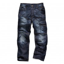 Scruffs Trade Denim Trousers (T51963) Blue - 38W x 32L