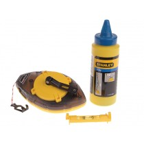 Stanley (0-47-465) Power Winder Chalk Line & Level - 30M