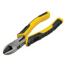 Stanley (STHT0-74455) Control Grip Diagonal Cutting Pliers - 200mm (8in)