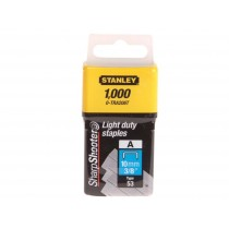 Stanley (0-TRA206T) Light Duty Staples - 10mm - Pack of 1000