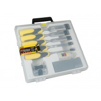 Stanley (5-16-421) DynaGrip Wood Chisels - Set of 5