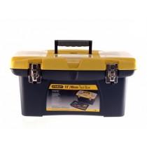 "Stanley (1-92-906) Toolbox - Jumbo Organiser + Tray - 19\"""