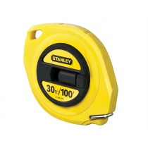Stanley (0-34-107) Closed Case Steel Tape Measure - 30 Metre