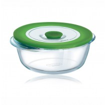 Pyrex Standard Round Dish With Lid - 4 In 1 PLUS - 15cm/0.35L
