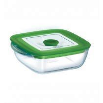Pyrex Square Dish With Lid - 4in1 PLUS - 14x12x4cm/0.3L