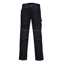 Portwest T601 PW3 Work Trousers - Black - 38R