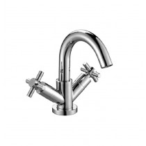 Scudo Mono Basin Mixer Tap with Push Waste