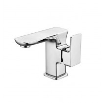 Scudo Dima Mono Basin Mixer Tap with Pust Waste