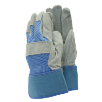 Town & Country All Round Rigger Gloves - Blue or Pink - M