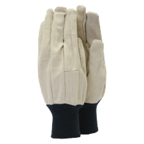 Town & Country Canvas Gloves - L
