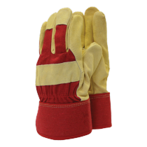 Town & Country Thermal Lined Rigger Gloves - Red - L