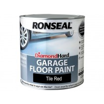 Ronseal Diamond Hard Garage FLoor Paint - Tile Red - 2.5L