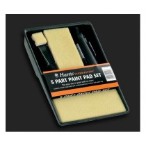Harris Taskmasters Paint Pad - 5 Part Set