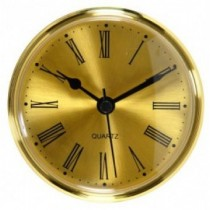 Turners Retreat TPC70G Clock Face - Gold - 70mm